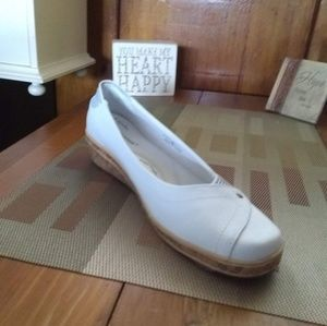 Grasshoppers White Canvas Slip On Shoes